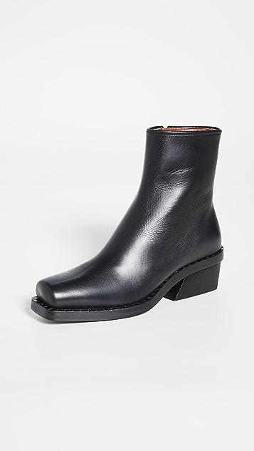 Proenza Schouler 方头短靴