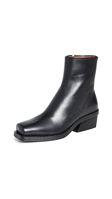 Proenza Schouler Box Toe Booties