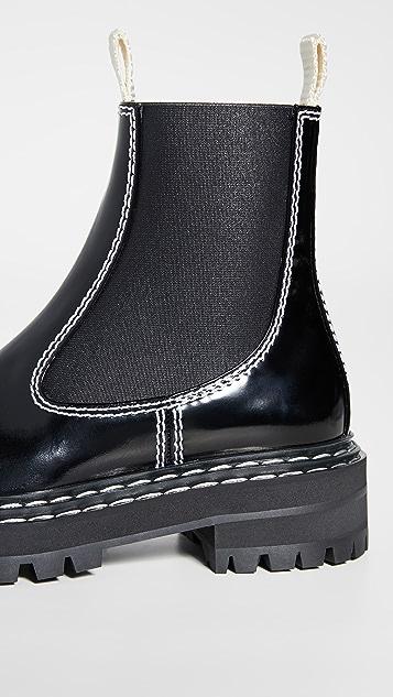 Proenza Schouler 缝线靴子