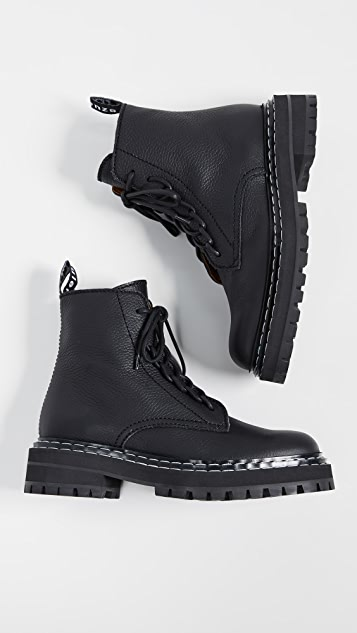 Proenza Schouler Stitch Lace Up Boots