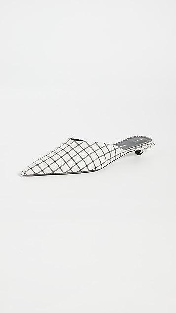 Proenza Schouler 网格穆勒鞋
