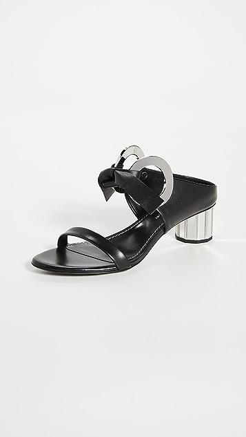 Proenza Schouler 整版绑带穆勒凉鞋