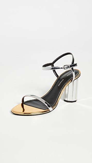 Proenza Schouler Metallic Sandals