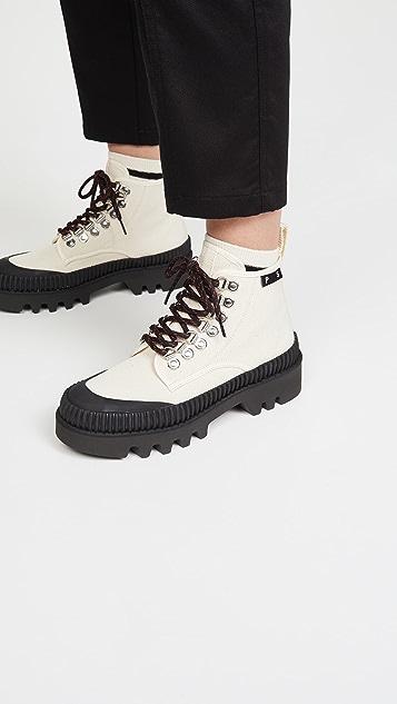 Proenza Schouler Lace Up Hiker Boots