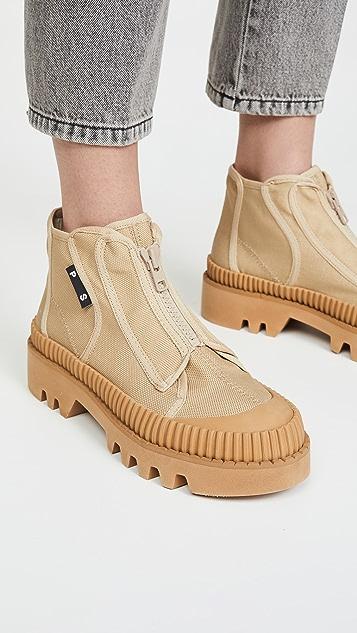 Proenza Schouler Zip Front Hiker Boots