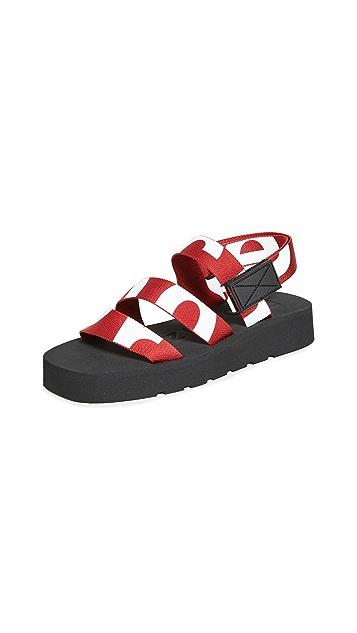 Proenza Schouler Track Sole Sandals