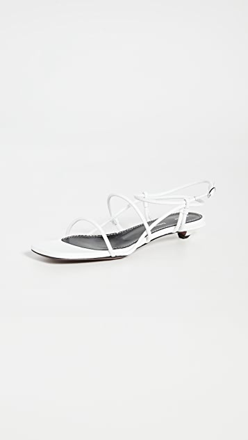 Proenza Schouler Strappy Low Sandals