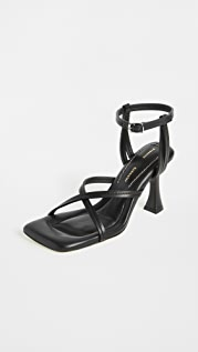 Proenza Schouler Square Toe Strappy Sandals