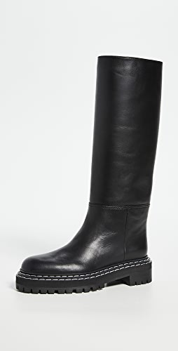 Proenza Schouler - Tall Lug Sole Boots