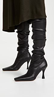 Proenza Schouler Ruched Over The Knee Boots