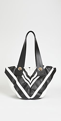 Proenza Schouler - Small Nappa Stripes Tobo Bag