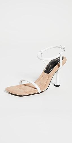 Proenza Schouler - Square Toe Strap Sandals