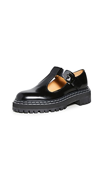 Proenza Schouler Track Sole Mary Janes