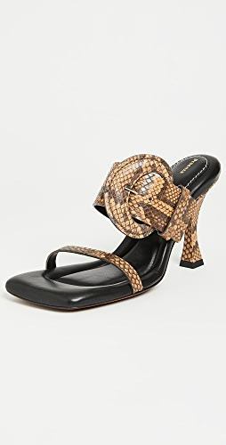 Proenza Schouler - Buckle Square Padded Sandals