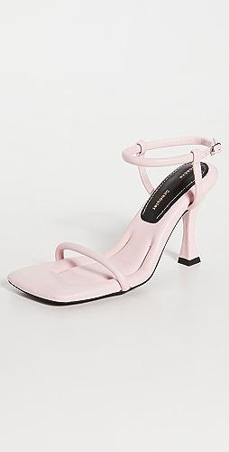 Proenza Schouler - 90mm 方形加垫凉鞋