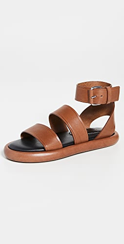Proenza Schouler - Pipe Leather Sandals