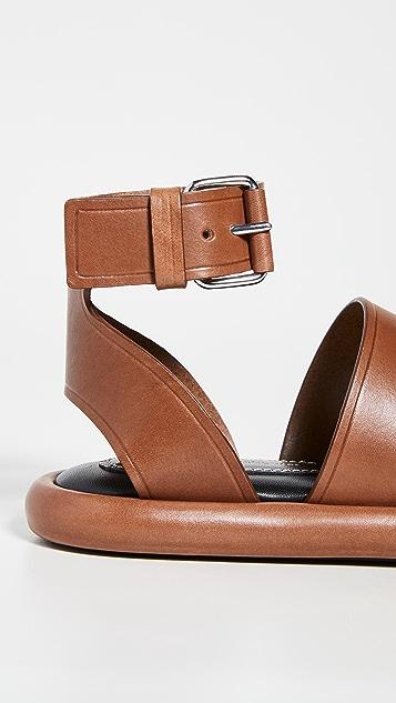 Proenza Schouler Pipe 皮凉鞋