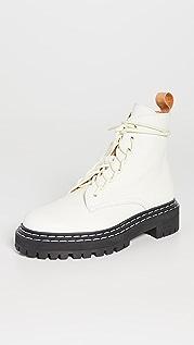 Proenza Schouler Lug Sole Combat Boots