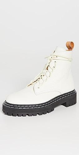 Proenza Schouler - Lug Sole Combat Boots
