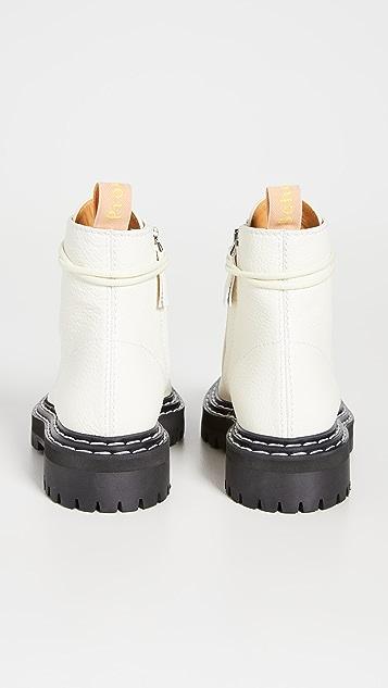 Proenza Schouler 沟纹鞋底军靴