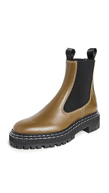 Proenza Schouler Lug Sole Chelsea Boots