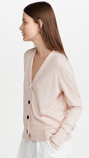 Proenza Schouler Silk Cashmere Cardigan