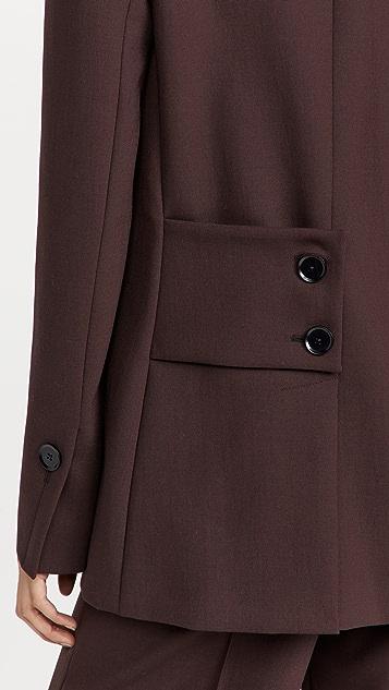 Proenza Schouler 高科技羊毛长款西装外套