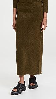 Proenza Schouler Wool Knit Long Skirt