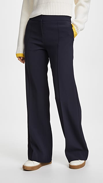 Protagonist Flared Trousers - Navy