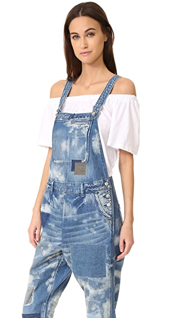 PRPS Painted Overalls