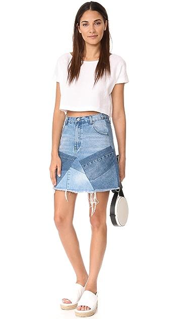 PRPS Patchwork Skirt