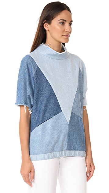 PRPS Patchwork Shirt