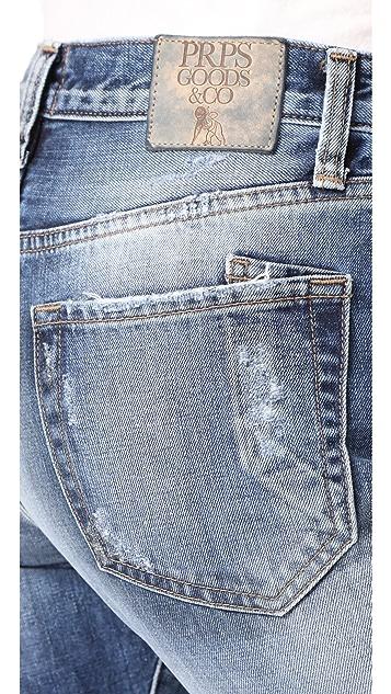 PRPS El Camino Reworked Boyfriend Jeans