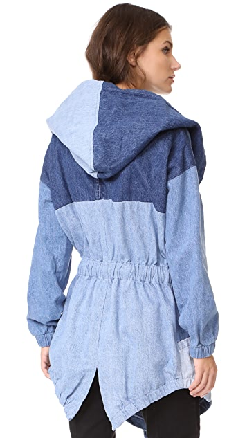 PRPS Hooded Poncho