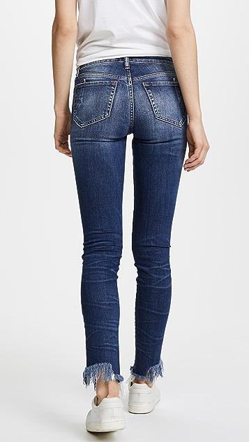 PRPS Camaro Step Hem Skinny Jeans