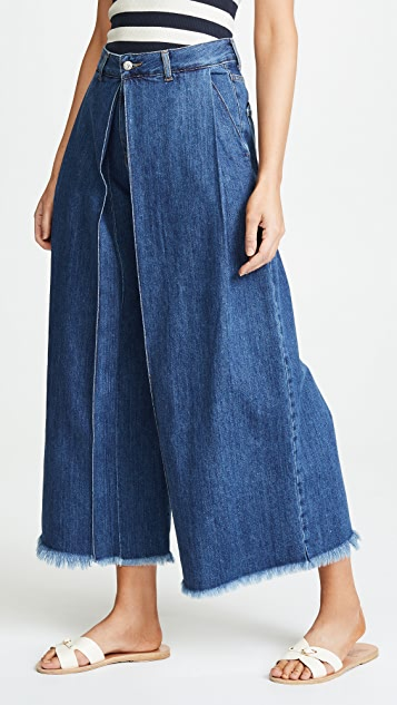 PRPS Javelin Voluminous Cropped Jeans