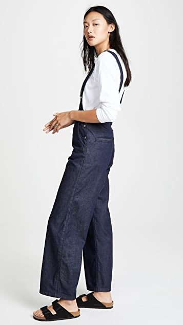 PRPS Wide Leg Bib Trousers