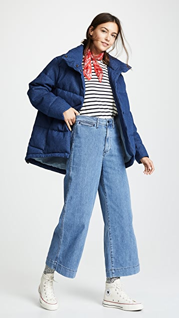 PRPS Quilted Swing Puffer Jacket