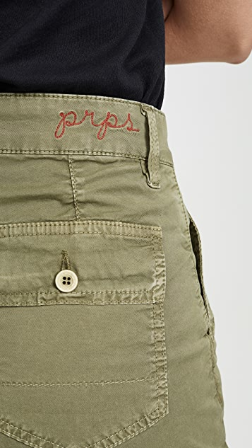 PRPS Utility Chino Shorts