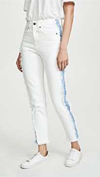 Loose Tapered Boyfriend Jeans
