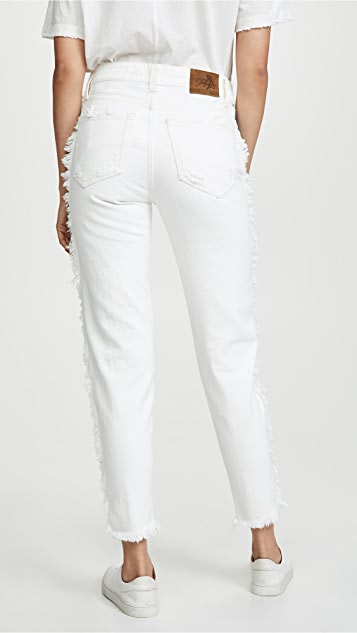 PRPS Loose Tapered Boyfriend Jeans