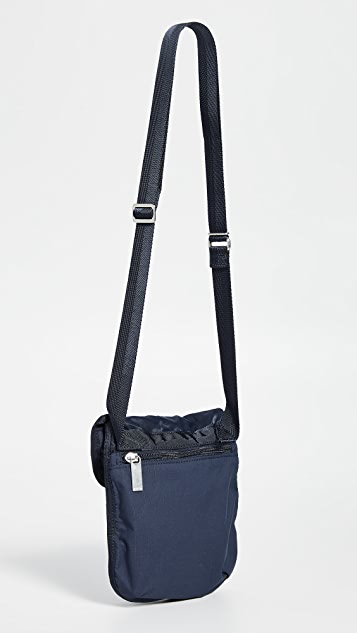 Porter Frame Small Shoulder Bag with Button