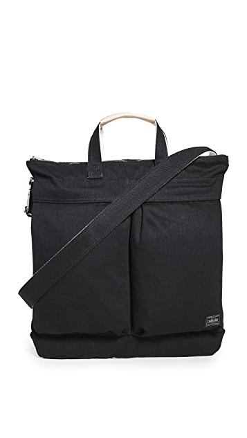 Porter Noir 2-Way Helmet Bag