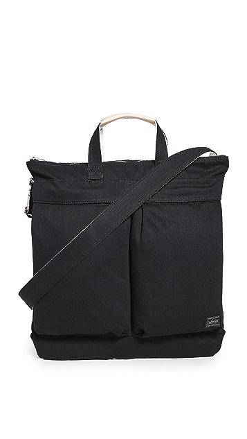 Porter Noir 2-Way Helmet Bag
