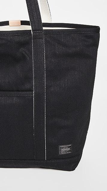 Porter Noir Tote Bag