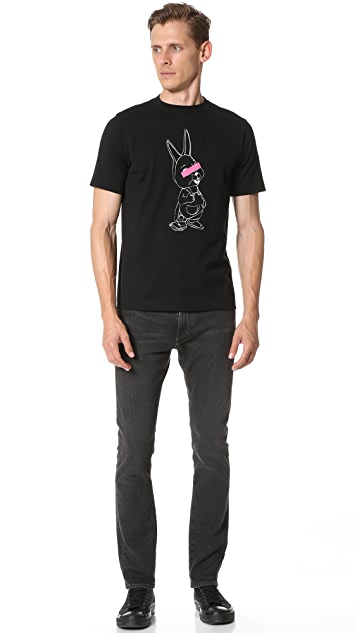 PS by Paul Smith Regular Fit Rabbit Tee