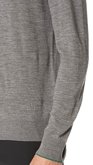 PS by Paul Smith Merino Turtleneck Knit Sweater