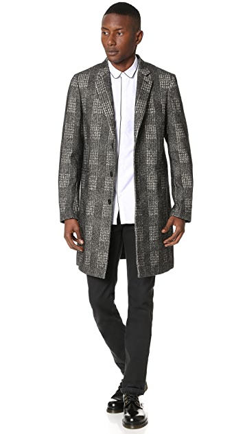 PS Paul Smith Single Breasted Tailored Coat