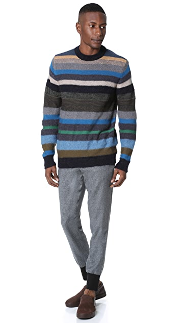 PS by Paul Smith Stripe Knit Sweater