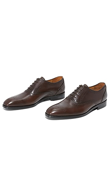 PS by Paul Smith Gilbert Brogue Detail Lace Up Shoes